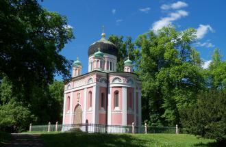 Alexander-Newski-Gedächtniskirche in Potsdam, Foto: Yvonne Schmiele