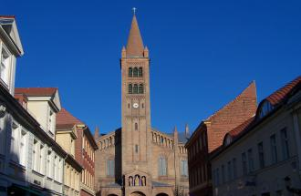 Kirche St. Peter und Paul in Potsdam, Foto: Yvonne Schmiele