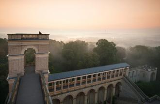 Aussicht Ostturm (c) SPSG/FVP, Foto Leo Seidel